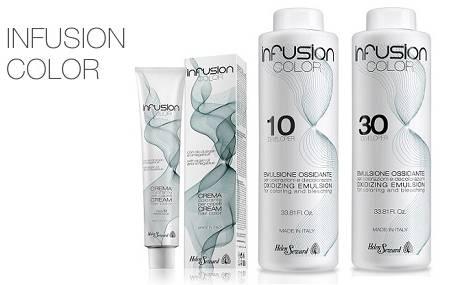 INFUSION COLOR è la nuovissima linea di colorazione cosmetica permanente  costituita da 60 brillanti nuance c15240d57ae2
